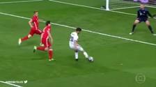 El golazo de Marco Asensio que selló la clasificación del Real Madrid
