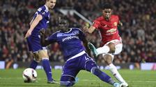 Rashford rescató a Manchester United con un golazo tras jugada de taco