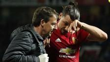 Zlatan Ibrahimovic falló gol cantado en Europa League