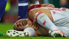 Manchester United confirmó que Ibrahimovic se rompió el ligamento cruzado