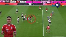 Bayern igualó ante Mainz con gol de Thiago tras gran disparo cruzado