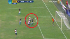 El increíble gol que se falló Lionard Pajoy ante Deportivo Municipal