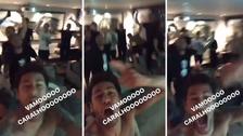 Neymar enloqueció tras el gol de Messi: golpeó la pantalla