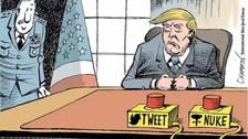 Fotos | 12 caricaturas de Donald Trump publicadas en todo el mundo