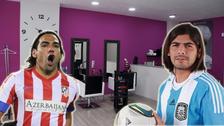 Nueve futbolistas que cambiaron su vida por ir a la peluquería