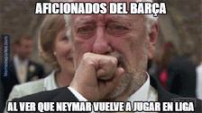 Barcelona ganó el Clásico catalán sin brillar y generó divertidos memes