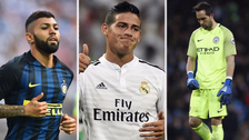 Los 10 jugadores latinoamericanos que decepcionaron en la temporada