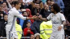 El gran gesto de Cristiano Ronaldo con Marcelo por ser el héroe del partido
