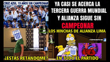 Alianza Lima ganó 2-1 a Sport Huancayo, pero no se salvó de los memes