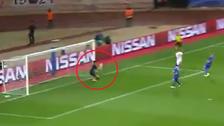 La descomunal atajada de Buffon ante el remate de Mbappé