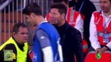 El mensaje de Diego Simeone a Alvaro Morata en la Champions League