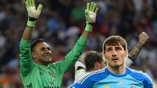 En Champions: el récord de Keylor Navas que no tiene Iker Casillas