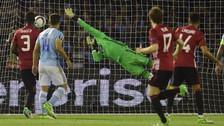 Manchester United ganó a Celta con golazo de tiro libre de Rashford