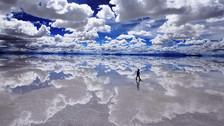 El salar de Uyuni: una infinita ciudad de sal y cielo