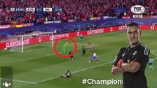 Así fue la doble tapada de Keylor Navas ante Atlético de Madrid