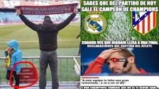 Los mejores memes de la previa al duelo entre Real Madrid y Atlético de Madrid