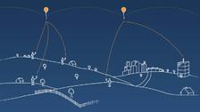 Proyecto Loon: globos que llevan Internet a zonas remotas