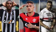 Los 15 delanteros más caros del Brasileirao