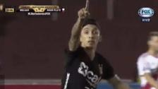 Omar Fernández puso el descuento: su gol a River Plate desde todos los ángulos