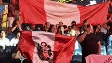 Hinchas peruanos apoyaron a Maicelo en el Madison Square Garden