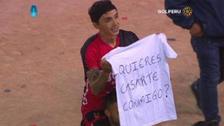 Futbolista de Melgar pidió matrimonio a su pareja luego de triunfo ante UTC