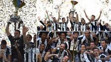 Paulo Dybala anotó un golazo de tiro libre y la Juventus salió campeón de Italia