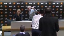 José Mourinho tuvo la conferencia más corta de la historia