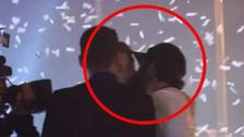 Isco interrumpió a Sergio Ramos y lo besó en la boca