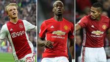 Alineaciones del Ajax y Manchester United para la final de Europa League