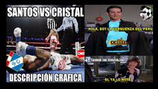 Cristal fue goleado 4-0 por Santos y los memes no se hicieron esperar