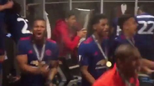 Jugadores del Manchester United celebraron al ritmo del 'Despacito'