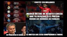 Manchester United ganó la Europa League, pero no se salvó de los memes