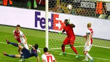 Mkhitaryan anotó gol acrobático ante Ajax en la final de la Europa League