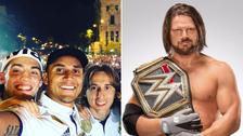 AJ Styles felicitó a Keylor Navas tras la conquista de Real Madrid