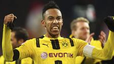 Borussia Dortmund ganó la Copa Alemana con gol de Aubameyang a lo 'Panenka'