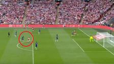 Ramsey anotó el gol del título de Arsenal en la FA Cup