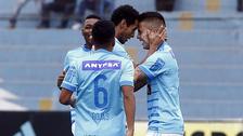 'Titi' Ortiz anotó un golazo a los 40 segundos en el triunfo de Sporting Cristal