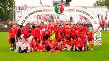 André Carrillo festejó a lo grande nuevo título en Portugal