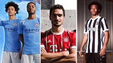 Los uniformes que los mejores equipos de Europa usarán en la próxima temporada