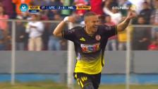 Millán anotó un golazo ante Melgar tras una magistral jugada ante Ascues