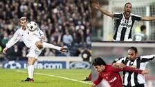 Zinedine Zidane y los futbolistas que jugaron en Juventus y Real Madrid