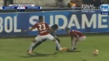 Kevin Quevedo deslumbró con esta gran jugada en su debut internacional