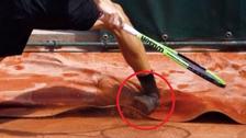 Así fue la lesión de David Goffin que lo obligó retirarse de Roland Garros