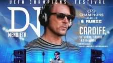 Mendieta volverá a ser el DJ de la antesala de la final de la Champions