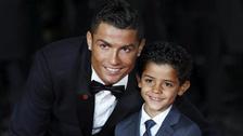 Cristiano Ronaldo sobre su hijo: