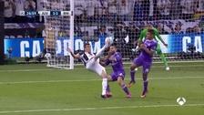 Mandzukic anotó un golazo de chalaca para poner el empate ante Real Madrid