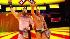 Cesaro y Sheamus arrebataron título en pareja a los Hardy Boys