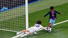 El hijo de Cristiano Ronaldo anotó su primer golazo en el Santiago Bernabéu