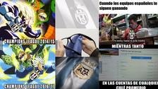 Juventus y Barcelona son víctimas de memes por perder ante Real Madrid