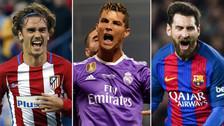 Con CR7 a la cabeza: los mejores jugadores de la Champions League